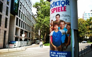 Doktorspiele-Plakat 2014 Frankfurt
